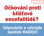 O�kov�n� proti kl횝ov� encefalitid�? Odpov�zte a vyhrajte bal��ek RADOX!