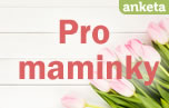 Anketa pro maminky