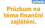 Průzkum na téma finanční zajištění