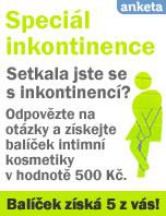 Anketa: Speci�l inkontinence