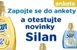 V�zkum pro v�b�r �ten��ek, kter� budou testovat novinky Silan Soft & Oils.