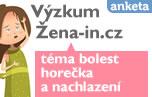 Výzkum žena-in.cz – téma bolest, horečka a nachlazení