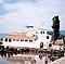 Netradiční pohled na ostrov Korfu.