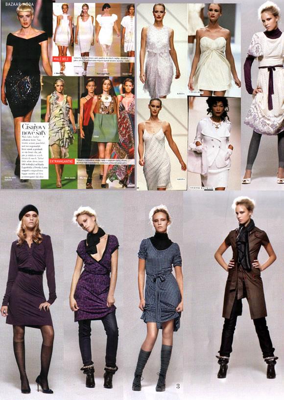 8af3553a9 Šaty letošní sezony jsou lehčí než nejjemnější letní vánek, náramně  vzdušné, ale i nesmírně originální. Tak co, milé ženy-in, co byste si z  mojí šatové ...