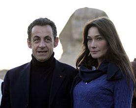 Sarkozy a modelka Carla Bruinová