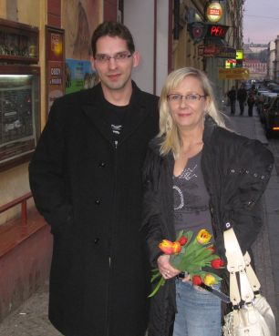 Lucie a Ondřej na rande