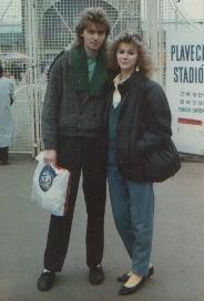 Jarka s manželkou Alenou