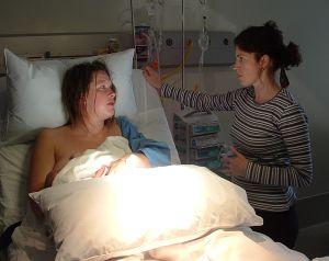 Vyčerpání po porodu
