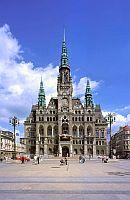 Liberecká radnice byla dostavěna v roce 1893