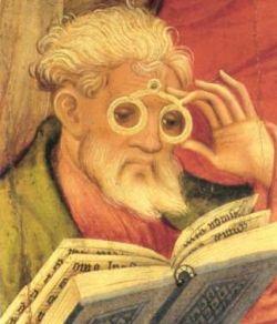 Apoštol s brýlemi