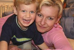 Marcela Junková se čtyřletým synem