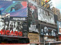 Reklama v NY