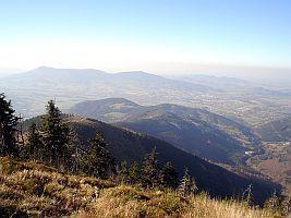 Hřebeny Moravskoslezských Beskyd