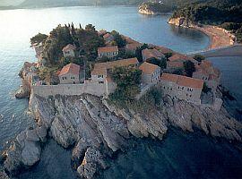 Luxusní ostrovní komplex Sv. Stefan