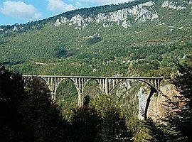 Jaukovičův most přes Taru