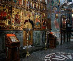 Monastýr Mrača - interiér