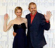 Hvězdou MFF V Karlových Varech byla vloni herečka Renée Zellweger (s Markem Ebenem)