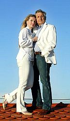 Šťastní manželé Menzelovi
