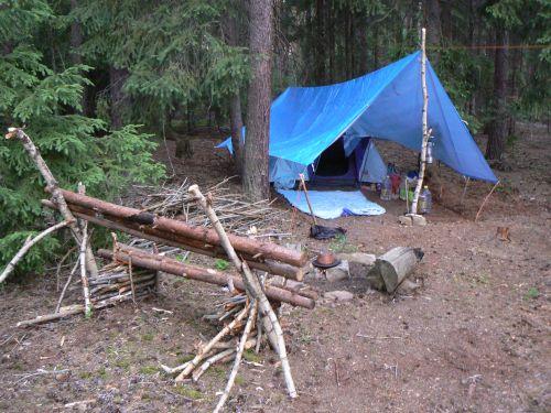 Naše tábořiště ;-)