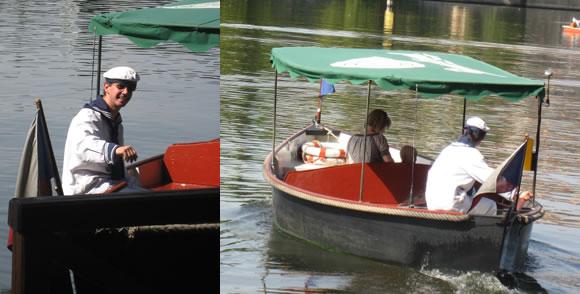 Někdy si na lodi připadáte skutečně jak na gondole v (Pražských) Benátkách