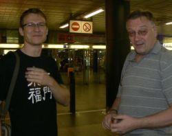 Pavel Renčín (vlevo) a Vlado Ríša (vpravo)