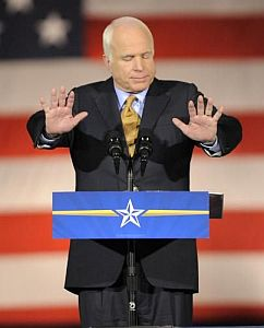 """Poražený"" John McCain"