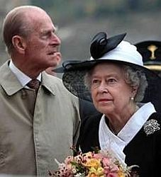 Královští rodiče - Alžběta II, a pric Philip