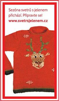 ŽENA-IN - Upleťte si svetr s jelenem! acbb2ad622