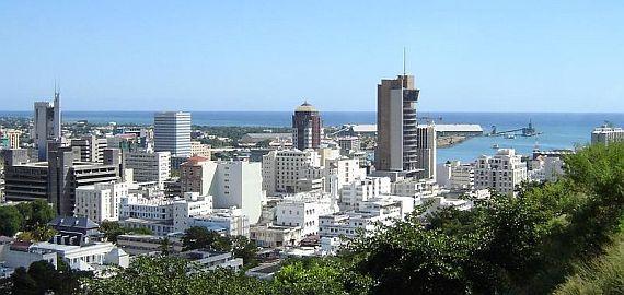 Hlavn� m�sto Mauricia Port Louis