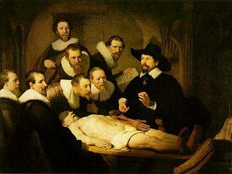 Rembrandt Van Rijn: Pitva doktora Tulpa