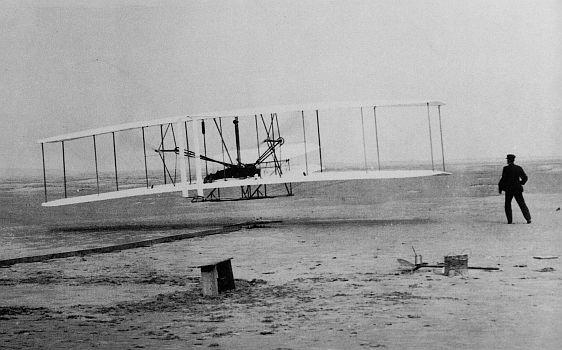 """Dvouplošník """"Wright Flyer"""""""