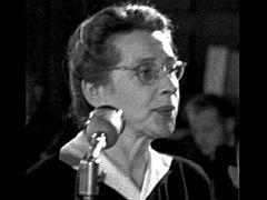 Popraven� politi�ka Milada Hor�kov�