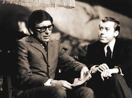 Miloslav Šimek (vlevo) s Jiřím Grossmannem
