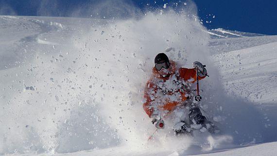 Obrovské výškové rozdíly ovliňují kvalitu sněhu...