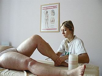Ruční lymfatická masáž