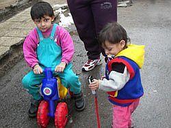 Romské děti v předškolním věku