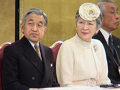 Akihito a Mičiko