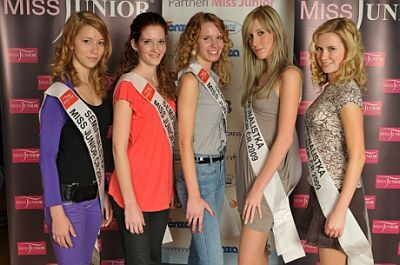 Semifinalistky Miss Junior 2009
