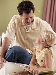 Muž s holčičkou
