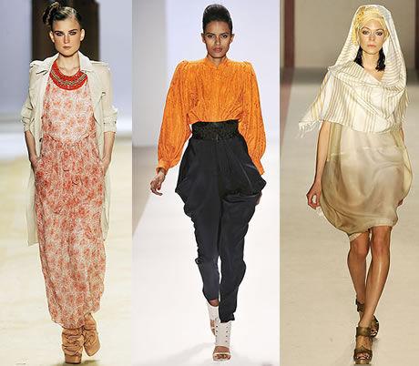 orientální móda