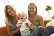 Lesbičky s dítětem