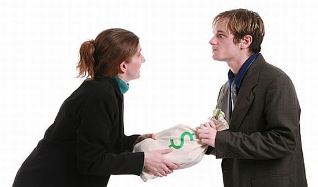 Ilustrační foto - rozvodová tahanice
