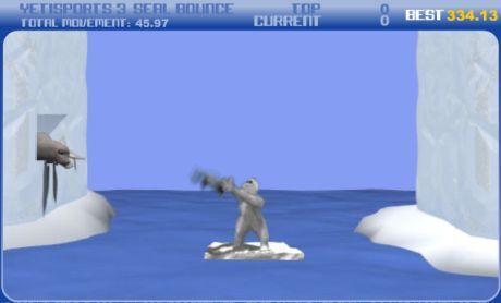 Hod tučňákem