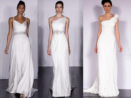 Empírové svatební šaty