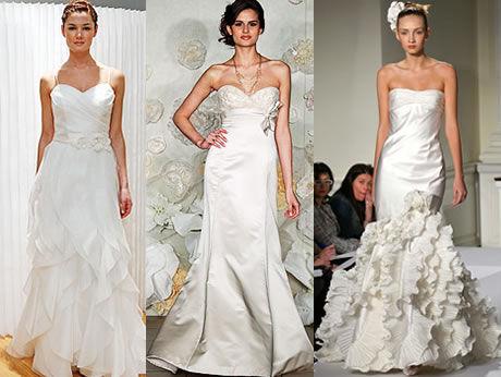 Secesní svatební šaty