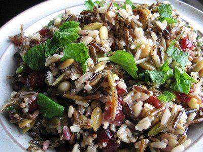 kuře s divokou rýží