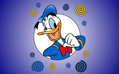 Jubilant Kačer Donald