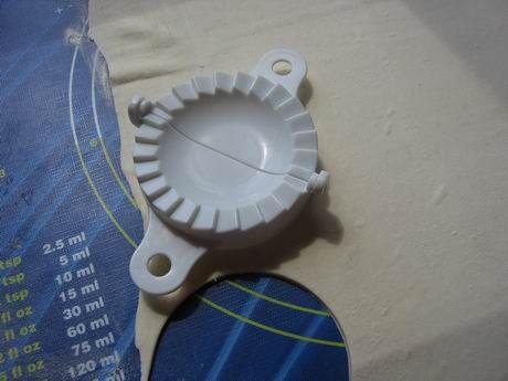 kolečka z těsta