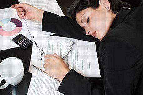 únava z nevyspání