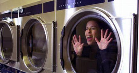 V pračce